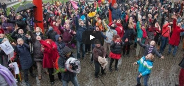 Filmdokumentation One Billion Rising Bremen 2016