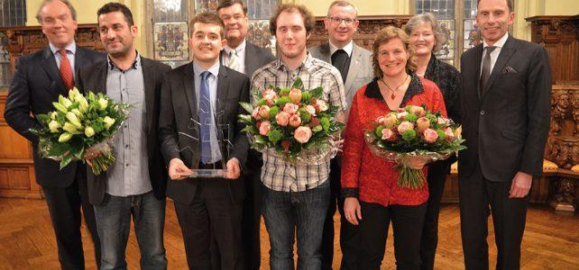Edda Lorna erhält den 2. Bremer Bürgerpreis