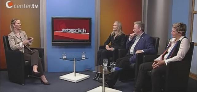 """Über """"das Glück"""" – Prof. Dr. Brockmann, Lorna und Morin im """"Stadtgespräch"""" von """"Center TV-Bremen"""" III"""