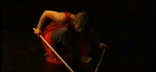 Die Stabtänerzin und das H - Solotanz Edda Lorna 2002