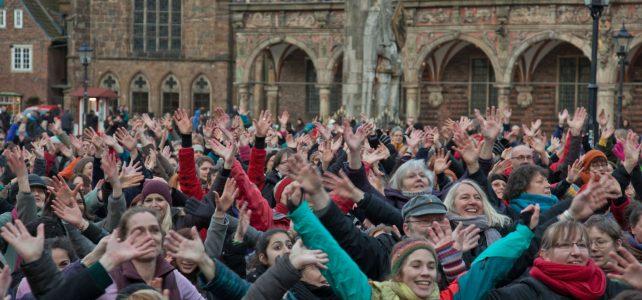 One Billion Rising Bremen 2022 um 16.00 Uhr zum 10. Mal